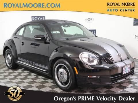2012 Volkswagen Beetle for sale at Royal Moore Custom Finance in Hillsboro OR