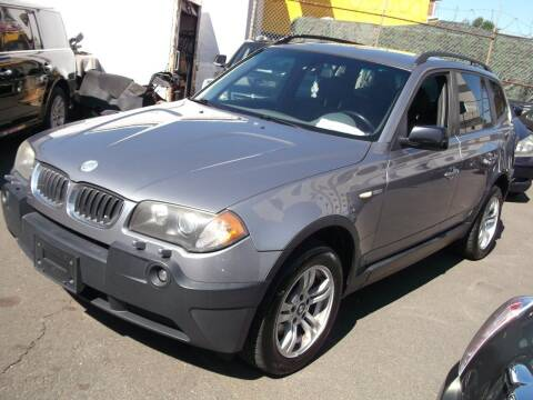 2004 BMW X3 for sale at Topchev Auto Sales in Elizabeth NJ