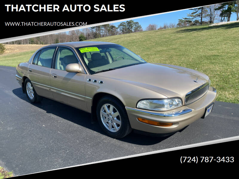 2005 Buick Park Avenue for sale at THATCHER AUTO SALES in Export PA