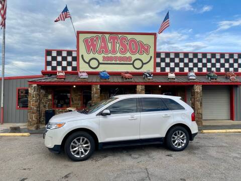 2013 Ford Edge for sale at Watson Motors in Poteau OK