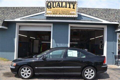 2002 Volvo S60 for sale at Quality Pre-Owned Automotive in Cuba MO