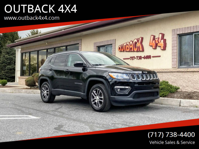 2018 Jeep Compass for sale at OUTBACK 4X4 in Ephrata PA