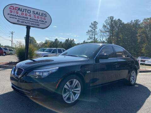 2010 BMW 5 Series for sale at CVC AUTO SALES in Durham NC