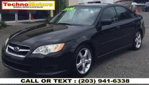 2009 Subaru Legacy for sale at Techno Motors in Danbury CT