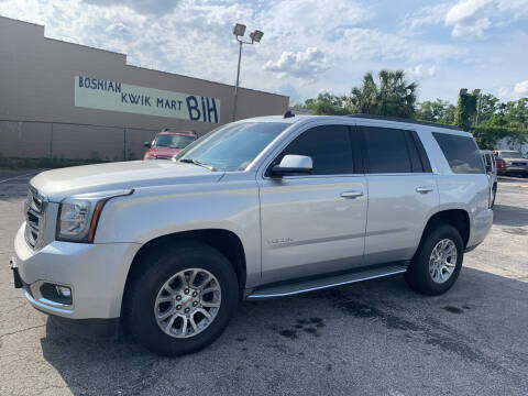 2015 GMC Yukon for sale at Castle Used Cars in Jacksonville FL