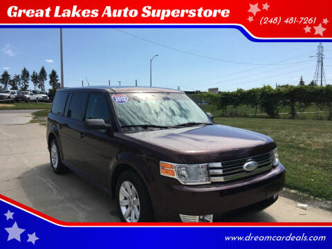 2012 Ford Flex for sale at Great Lakes Auto Superstore in Waterford Township MI