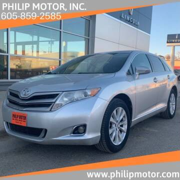 2013 Toyota Venza for sale at Philip Motor Inc in Philip SD
