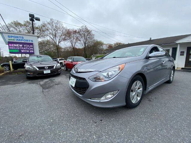 2015 Hyundai Sonata Hybrid for sale at Sports & Imports in Pasadena MD
