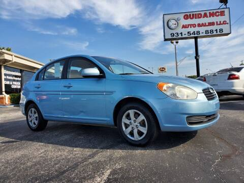 2010 Hyundai Accent for sale at Guidance Auto Sales LLC in Columbia TN