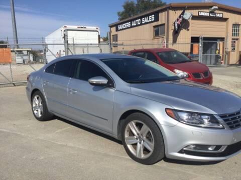 2014 Volkswagen CC for sale at Sanders Auto Sales in Lincoln NE