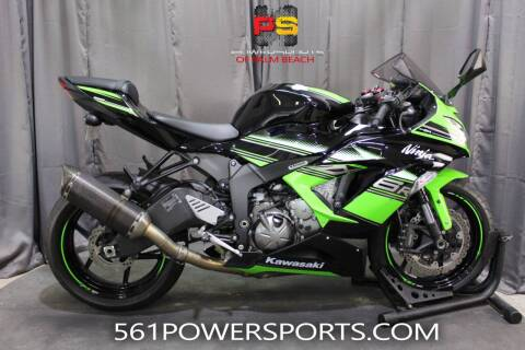 2017 Kawasaki Ninja ZX-6R ABS KRT EDITION for sale at Powersports of Palm Beach in Hollywood FL