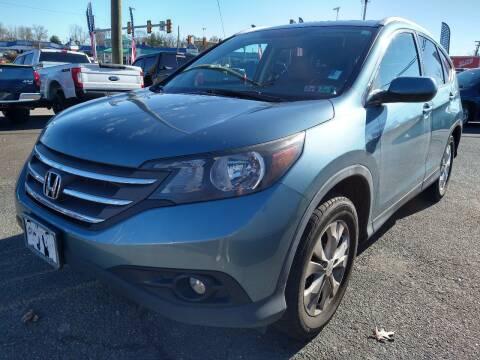 2014 Honda CR-V for sale at P J McCafferty Inc in Langhorne PA