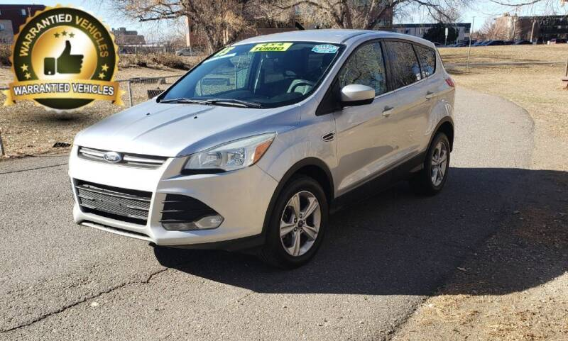 2013 Ford Escape for sale at Central Denver Auto Sales in Englewood CO