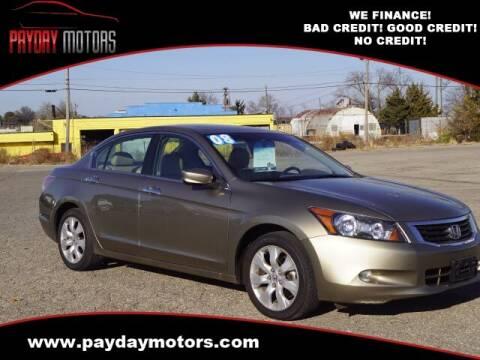 2008 Honda Accord for sale at Payday Motors in Wichita And Topeka KS