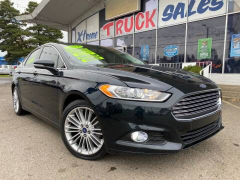 2014 Ford Fusion for sale at Xtreme Truck Sales in Woodburn OR