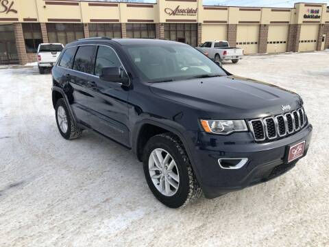 2018 Jeep Grand Cherokee for sale at ASSOCIATED SALES & LEASING in Marshfield WI