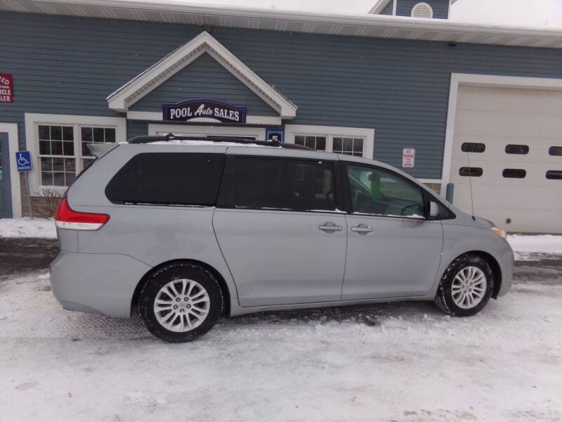 2011 Toyota Sienna for sale at Pool Auto Sales Inc in Spencerport NY
