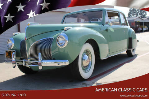 1941 Lincoln Continental for sale at American Classic Cars in La Verne CA