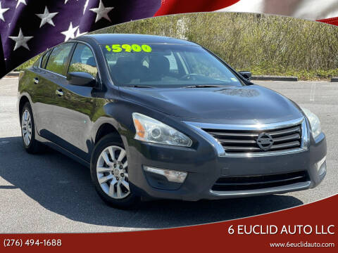 2014 Nissan Altima for sale at 6 Euclid Auto LLC in Bristol VA