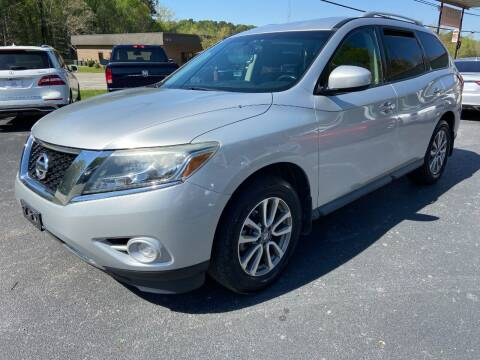 2014 Nissan Pathfinder for sale at Luxury Auto Innovations in Flowery Branch GA