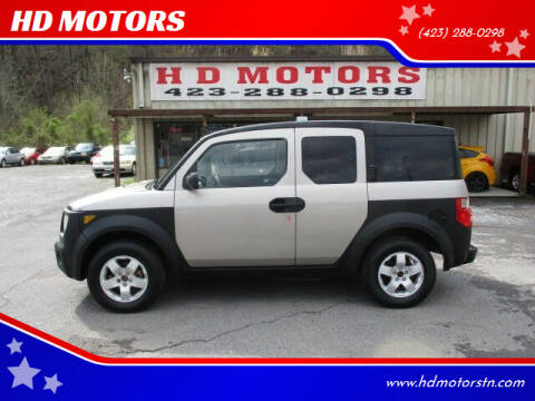2004 Honda Element for sale at HD MOTORS in Kingsport TN