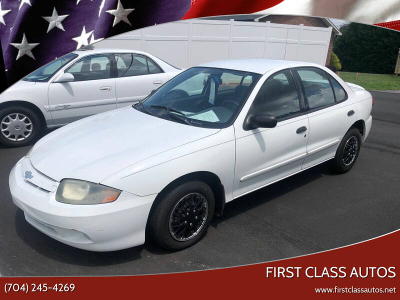 2004 Chevrolet Cavalier for sale at First Class Autos in Maiden NC