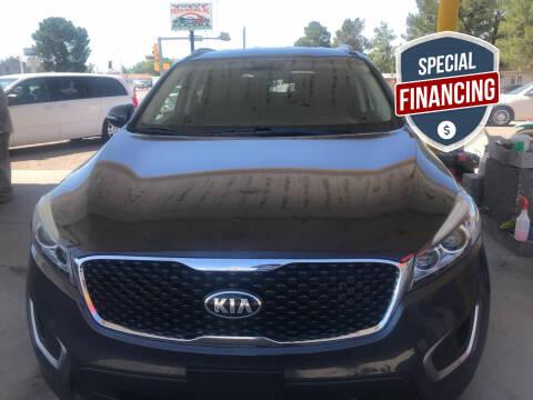 2016 Kia Sorento for sale at Fiesta Motors Inc in Las Cruces NM
