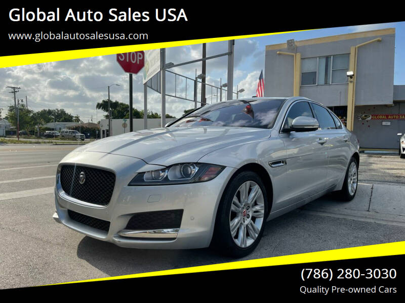 2017 Jaguar XF for sale at Global Auto Sales USA in Miami FL
