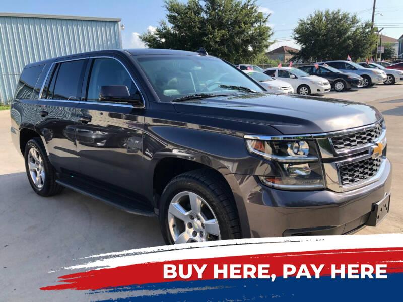 2015 Chevrolet Tahoe for sale at GRG Auto Plex in Houston TX