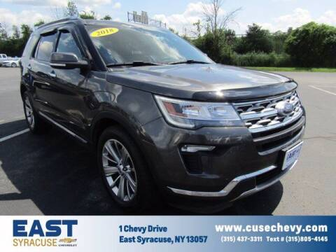2018 Ford Explorer for sale at East Syracuse Performance Sales & Service in Syracuse NY