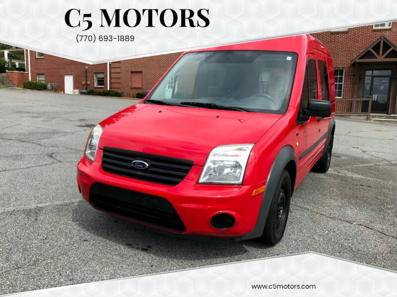 2010 Ford Transit Connect for sale at C5 Motors in Marietta GA