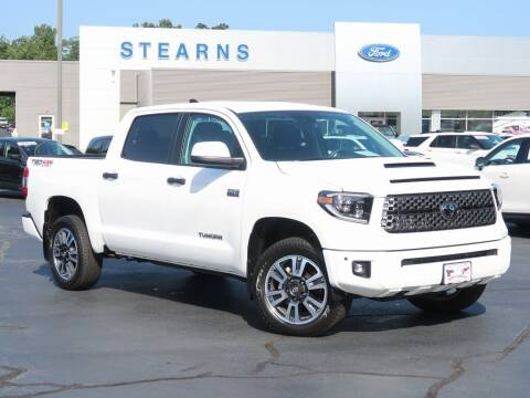 2021 Toyota Tundra for sale at Stearns Ford in Burlington NC