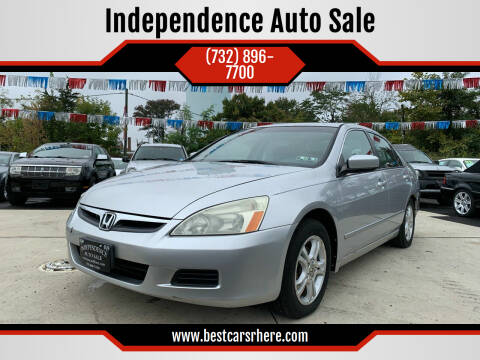2006 Honda Accord for sale at Independence Auto Sale in Bordentown NJ