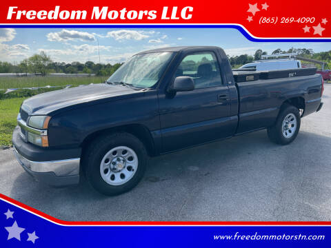 2005 Chevrolet Silverado 1500 for sale at Freedom Motors LLC in Knoxville TN