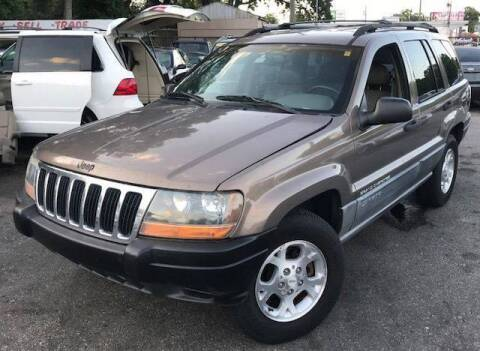 2001 Jeep Grand Cherokee for sale at CHECK  AUTO INC. in Tampa FL