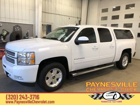 2012 Chevrolet Silverado 1500 for sale at Paynesville Chevrolet - Buick in Paynesville MN