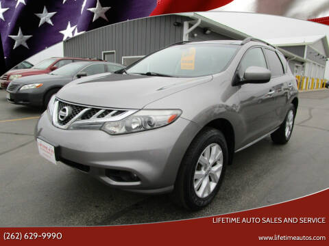 2011 Nissan Murano for sale at Lifetime Auto Sales and Service in West Bend WI