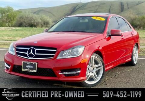 2014 Mercedes-Benz C-Class for sale at Premier Auto Group in Union Gap WA
