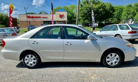 2004 Toyota Camry for sale at Delgato Auto in Pittsboro NC