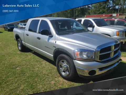 2006 Dodge Ram Pickup 1500 for sale at Lakeview Auto Sales LLC in Sycamore GA