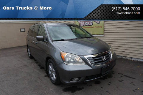 2010 Honda Odyssey for sale at Cars Trucks & More in Howell MI