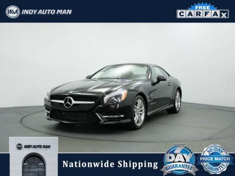 2013 Mercedes-Benz SL-Class for sale at INDY AUTO MAN in Indianapolis IN