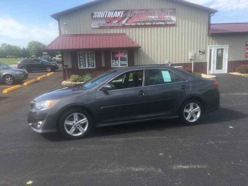 2014 Toyota Camry for sale at Southlake Body Auto Repair & Auto Sales in Hebron IN