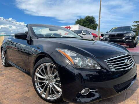 2012 Infiniti G37 Convertible for sale at Cars of Tampa in Tampa FL