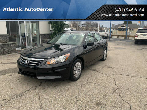 2012 Honda Accord for sale at Atlantic AutoCenter in Cranston RI