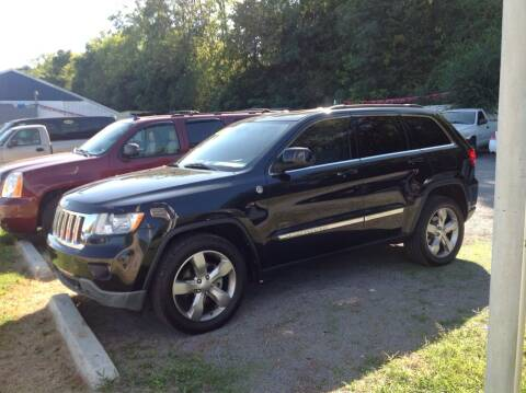 2013 Jeep Grand Cherokee for sale at GIB'S AUTO SALES in Tahlequah OK