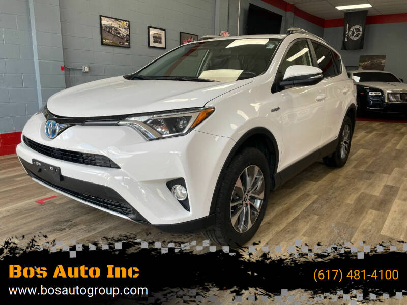 2016 Toyota RAV4 Hybrid for sale at Bos Auto Inc in Quincy MA