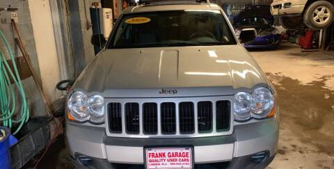 2009 Jeep Grand Cherokee for sale at Frank's Garage in Linden NJ