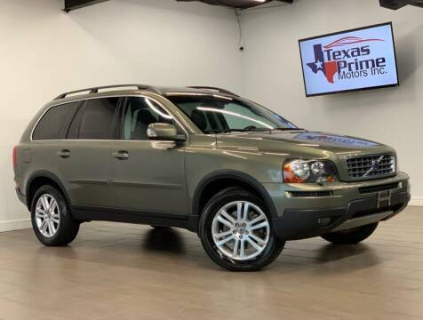 2009 Volvo XC90 for sale at Texas Prime Motors in Houston TX