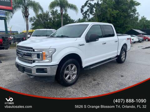 2018 Ford F-150 for sale at V & B Auto Sales in Orlando FL